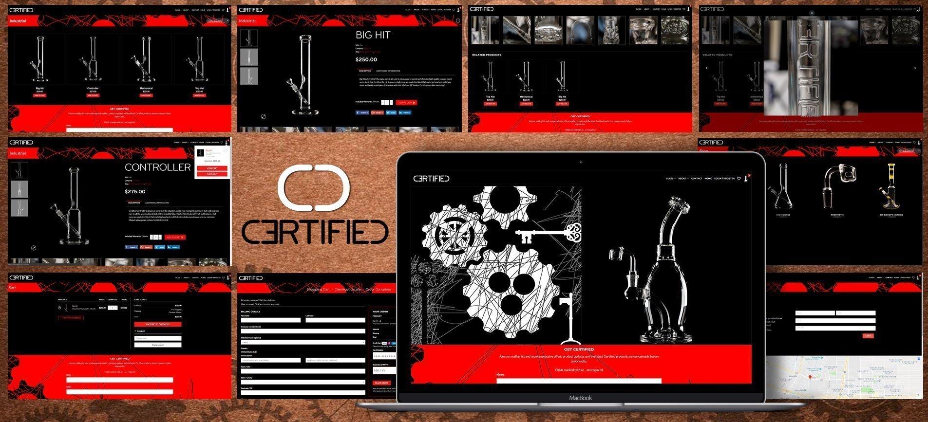 Certified Website