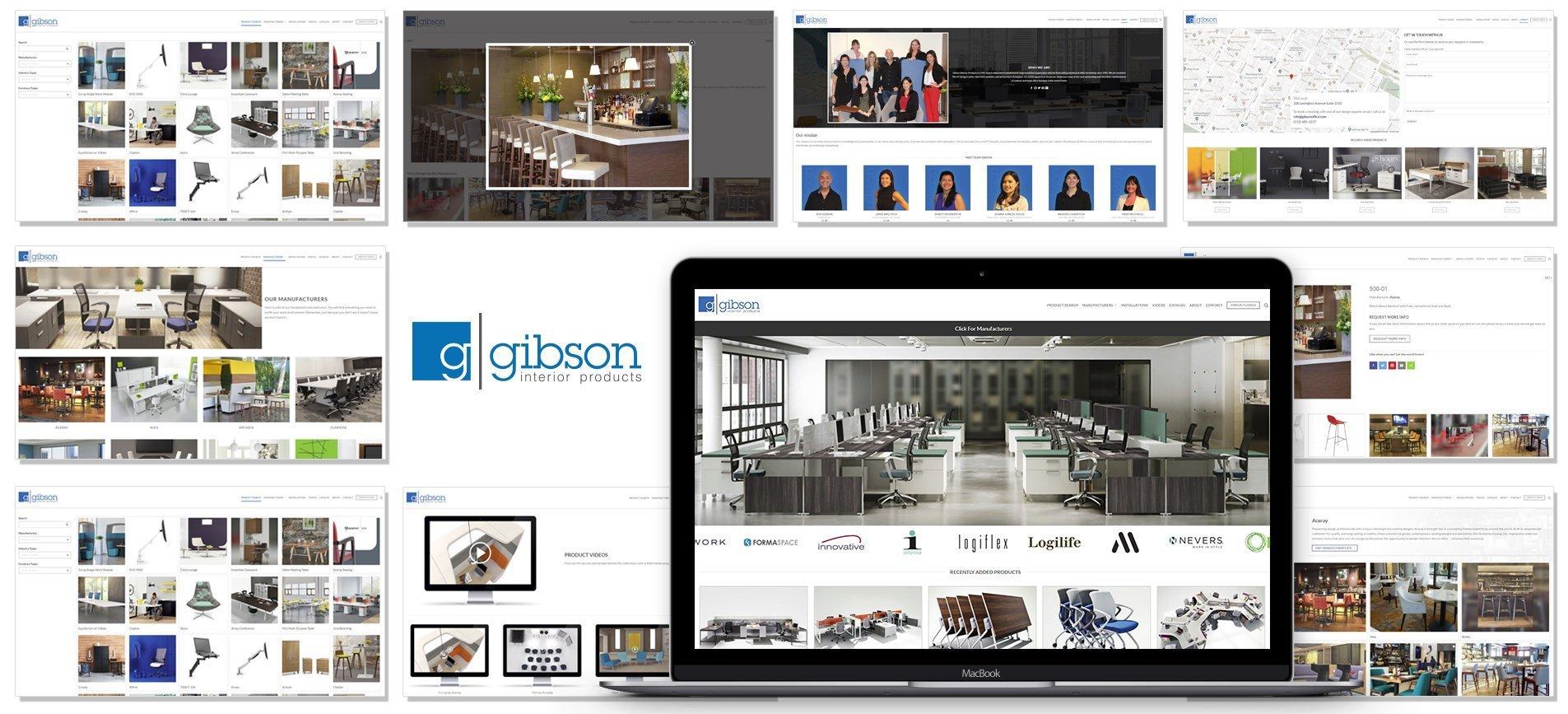 GIbson Interiors Web SLider