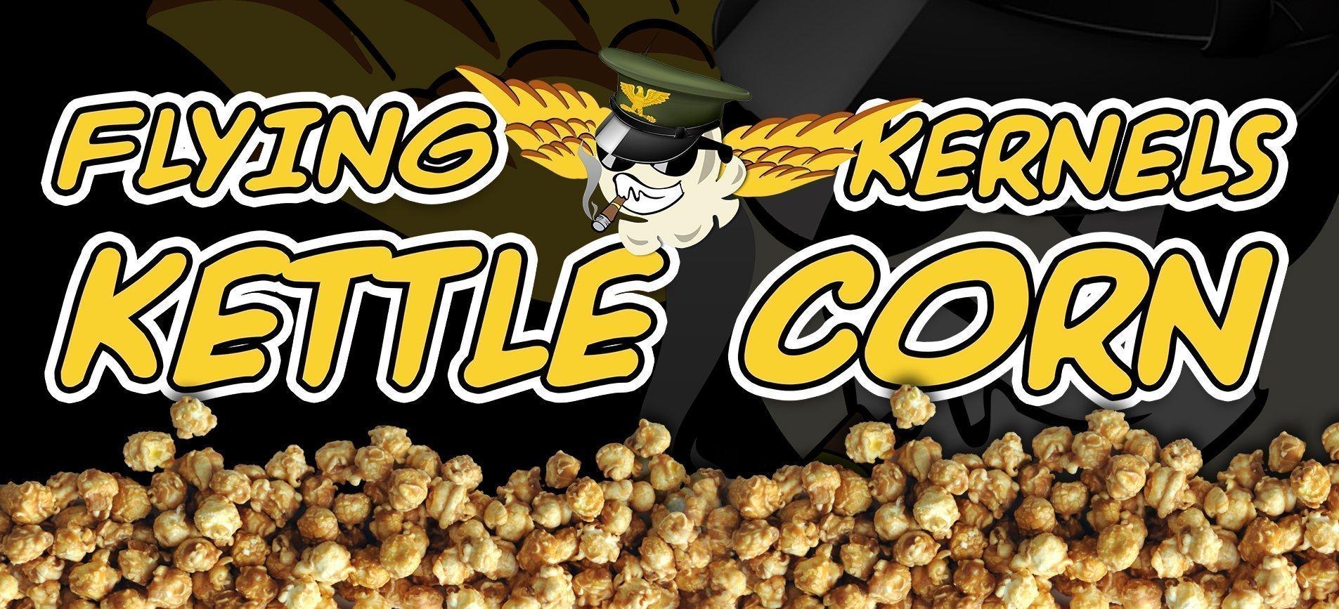 slider - flying kernels logo